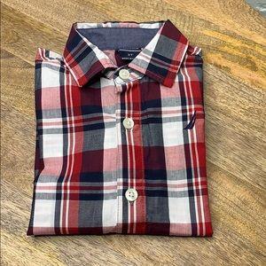 Nautica boy button down shirt